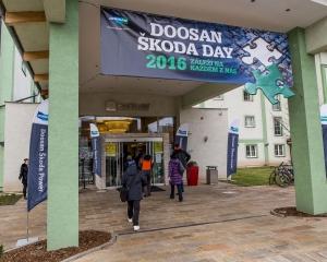 Doosan Škoda Day 2016